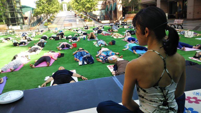 Picnic Yoga♡
