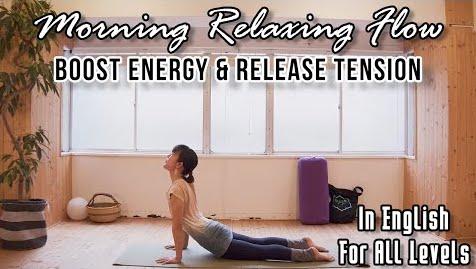 New English Yoga Video♡